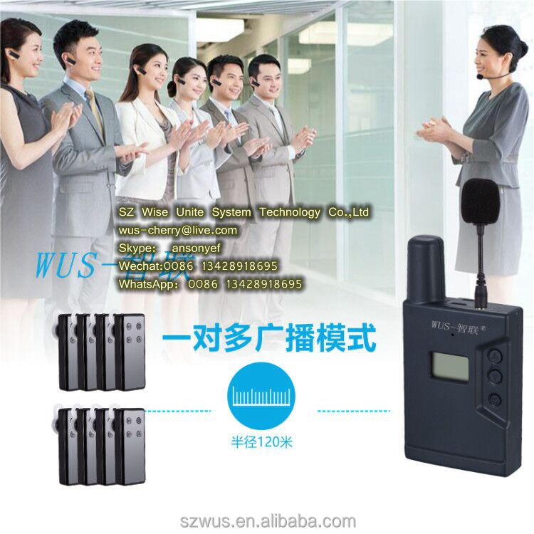 ZLWUS2408 mini Buy Discount Wireless Tour Guide System/radioguide/audio Guides For Visiting Museum/training/government/hajj