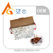 Food packaging aluminium foil in roll type for household use