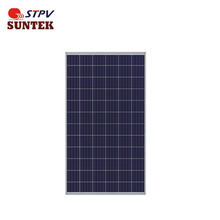 High efficiency 320W Poly-crystalline Solar Panel for solar power system