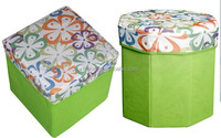 non-woven foldable rectangle standard ottoman storage bin
