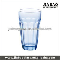 milk cow drinking cup, Blue whiskey glass cup 180ml(GB03B018112)