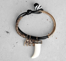 Fashion elephant horn hair women bracelet accessories