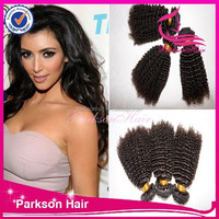 2015 Latest products in market brazilian hair Mixed length curly human hair top quality hair extension