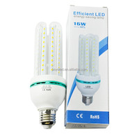 HOT Sell 16w 4u e27 led corn lamp led energy saving light bulb