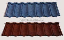 Colorful stone coated steel Roof Tile/roofing material for building