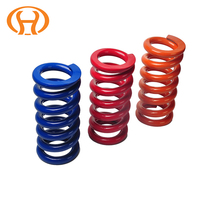 Colorful spring large custom compression coil springs