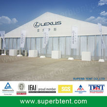 Advertising Promotional tent with glasswall
