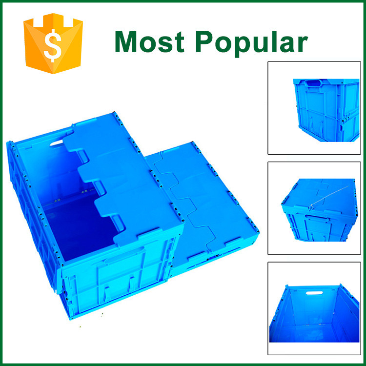 Square Collapsible Plastic Storage Contianer Box