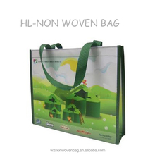 Promotional Full Color Printed Shopping PP Non Woven Bag Laminated