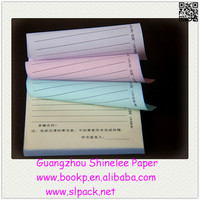 factory sale one time a4 carbon copy paper with 3 or more ply form paper