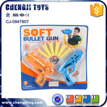 Plastic soft bullet gun shooting soft ball gun