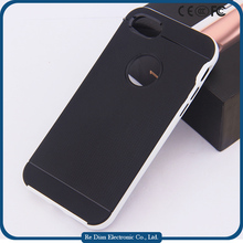 Factory price cement phone case with pc frame back cover for iphone 7