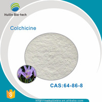 High quality pure natural 99% daffodil extract Colchicine powder CAS 64-86-8