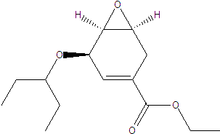 Oseltamivir intermediate;Ethyl (3R,4S,5S)4,5-Epoxy-3-(1-ethylpropoxy)cyclohex-1-ene-1-carboxylate;CAS:204254-96-6