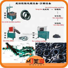 2015 New arrival scrap tire processing production line /car tyre making machine(Wechat:008613816026154)