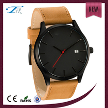 Cheap custom design watch rose gold plating alloy material watch