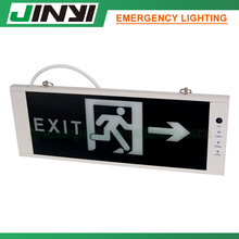 LED emergency exit sign/running man exit /exit sign board