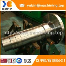 An excellent production team reduced shaft diameter electric fan motor shaft for cnc tool grinding machine