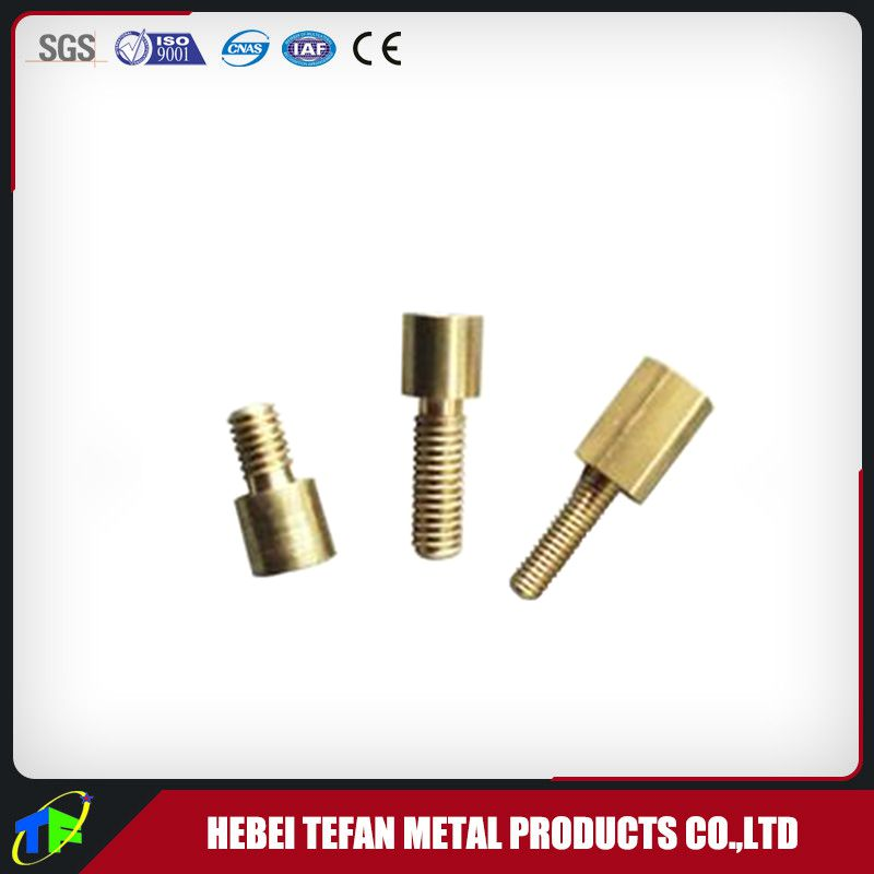 cnc brass lathe turning machine parts for mechanical