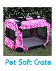 foldable fabric pet soft crate