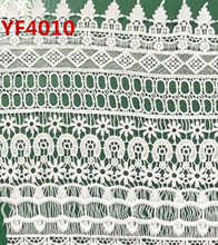 Wholesale Guipure Polyester Water Soluble Embroidery Lace Fabric