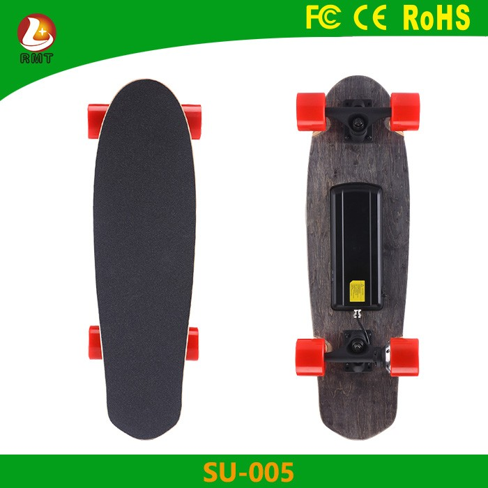 Dropship dropshipping no minimum order remote control skate board 4 PU wheel mobility step electric scooter