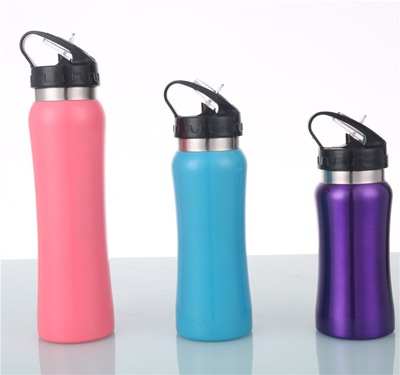 single wall sport water bottle stainless steel water bottle