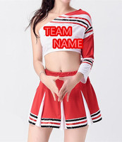 OEM service high quality wholesale sublimation never fade sport basketball football game match fashion cheerleader uniform dress