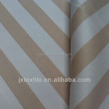 "High quality 100% Cotton 24*24 108*58 , 63"" Twill Stripe Printed fabric"