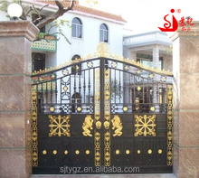 Excellent iron housing gate,wrought iron gate grill design