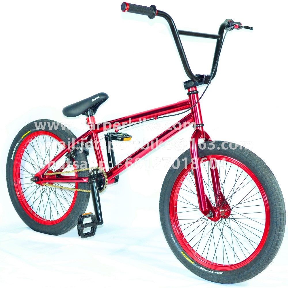 New UV Colour BMX bicycle 20 inch freestyle bike