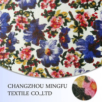china supplier 100% printing wool fabric fashion make to order design or in stock