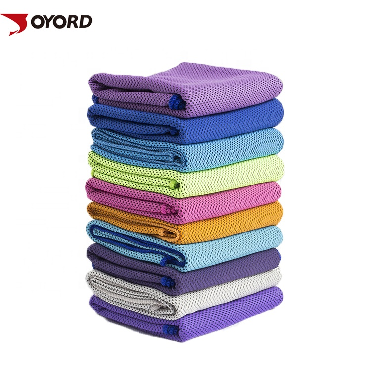Wholesale cheap quick dry breathable microfiber instant ice cooling sports gym <strong>towel</strong>