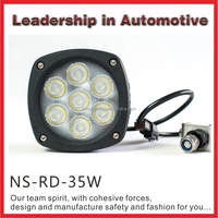 Factory Direct Wholesale 4.3 inchElectric Bike Motorcycle Atv Jeep Suv 35w Led Tuning Work Light
