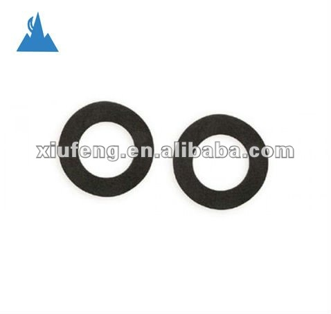 Black/Blue anodized aluminum rings for camera lens