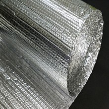 High cost-effecive heat resistant aluminum foil PE bubble material for floor and wall insulation