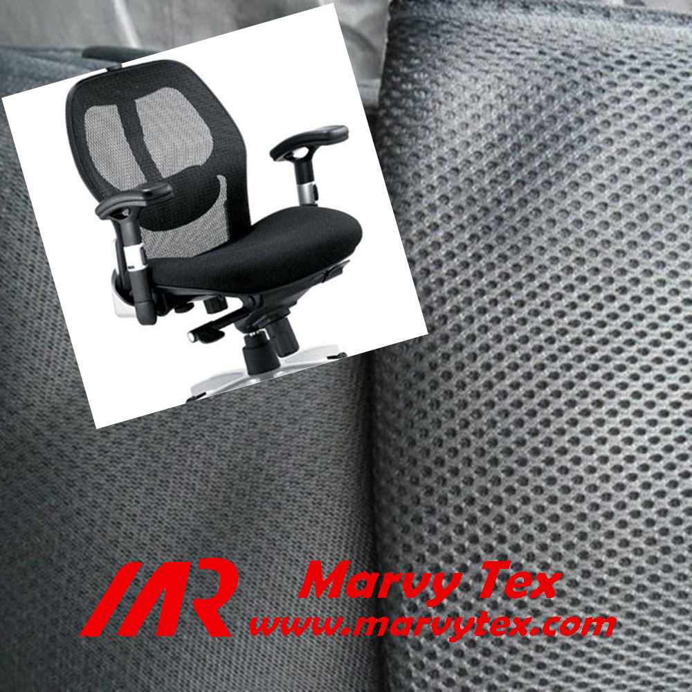 microfiber breathable waterproof 3d air mesh fabric for office chair