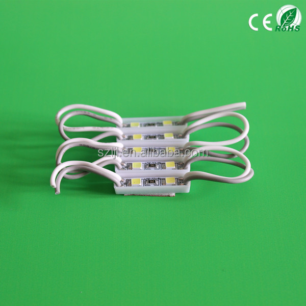 Emitting pure white/neuter light 2 chips 3528 smd led module 12V 0.26w