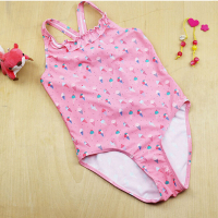 ET057 online shop high quality rose sexy children one piece swimsuit