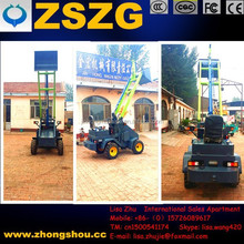 Mini skid steer loader /Battery electric mini front wheel load
