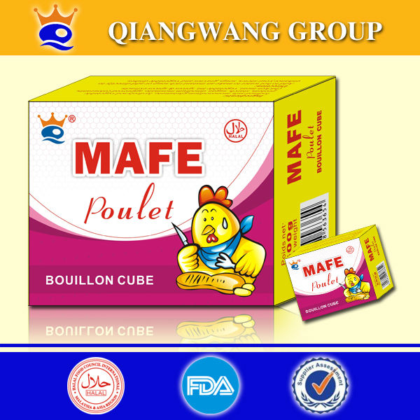 No.1 supplier of chicken bouillon cube products