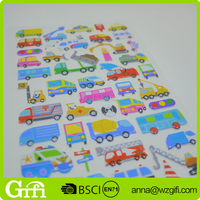 hot sell lovely self-adhesive 3D foam sticker puffy sticker for kids