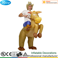 AirSuits Inflatable Horse Riding Cowboy Outfit Fun Fancy Dress Halloween Costume