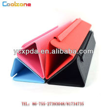 2012 new arrival tri-fold smart cover case for ipad mini