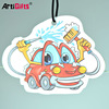 Made in china factory cheap paper car air freshener for office