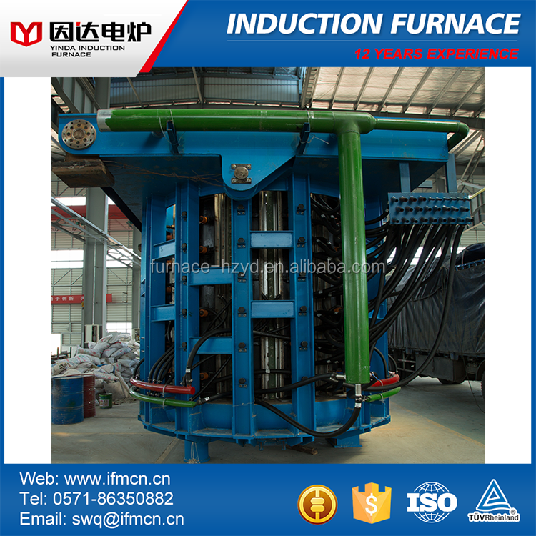Hot sale small glass melting machine for furnace