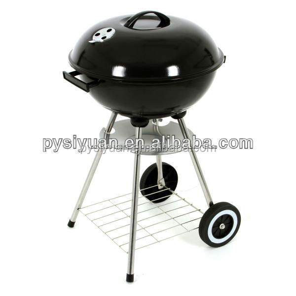 portable bucket charcoal BBQ for home party