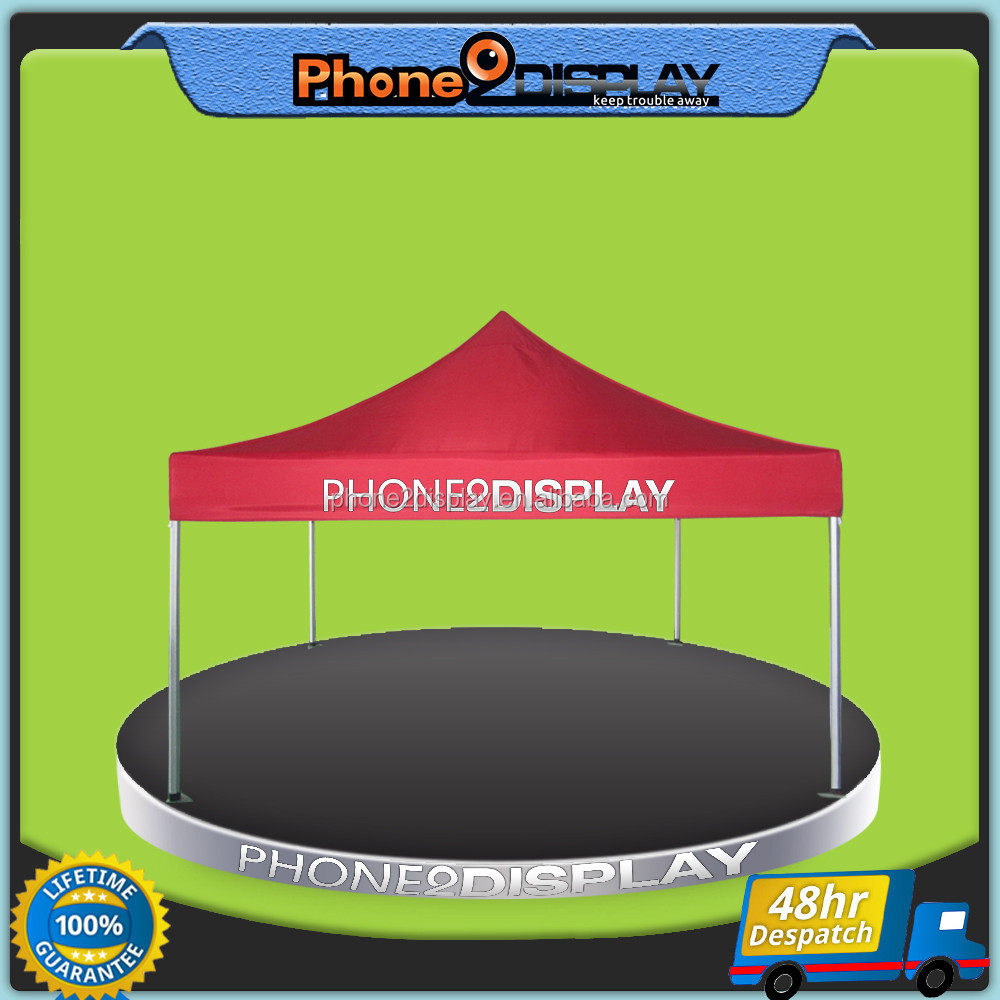 10ft advertising cheap easy up folding pop up beach tent