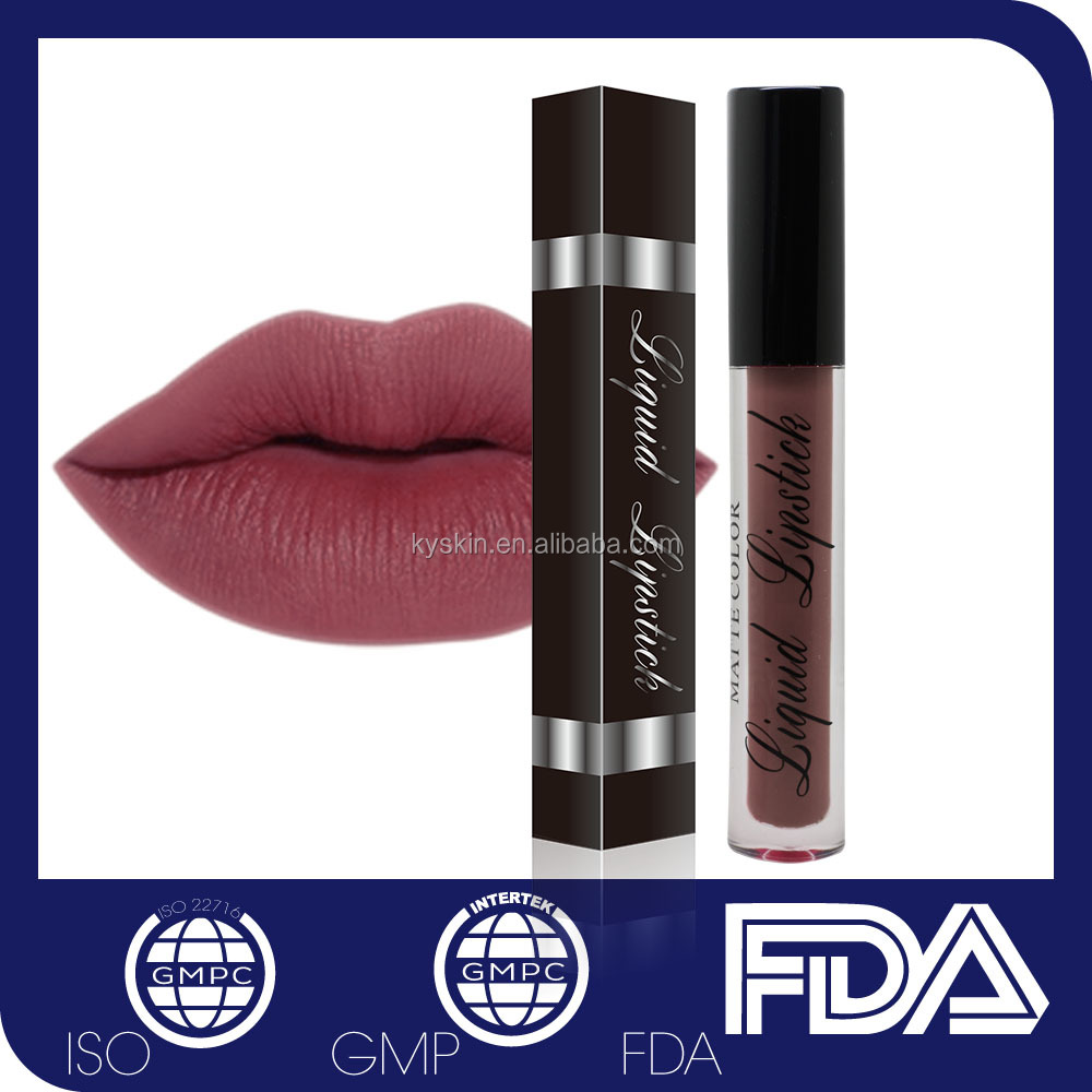 Branded 10 Best Lipsticks No Logo No Label Private Label Custom Matte Liquid Lipstick Waterproof Wholesale