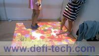 FREE SHIPPING 118 effectives Interactive floor projection system,Support people while interaction